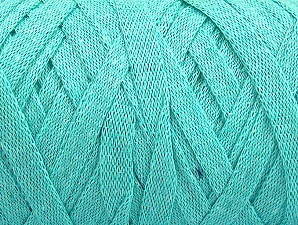 Fiber Content 100% Recycled Cotton, Mint Green, Brand ICE, Yarn Thickness 6 SuperBulky  Bulky, Roving, fnt2-61089