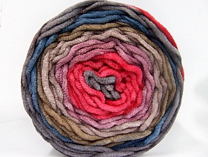 Fiber Content 100% Acrylic, Salmon, Lilac, Jeans Blue, Brand ICE, Grey, Camel, Yarn Thickness 4 Medium  Worsted, Afghan, Aran, fnt2-61164