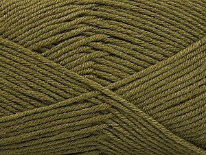 Fiber Content 60% Bamboo, 40% Polyamide, Khaki, Brand ICE, Yarn Thickness 2 Fine  Sport, Baby, fnt2-61314