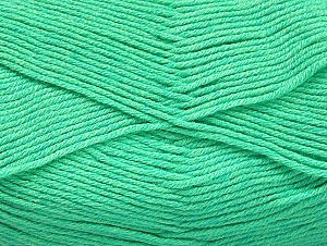 Fiber Content 60% Bamboo, 40% Polyamide, Mint Green, Brand ICE, Yarn Thickness 2 Fine  Sport, Baby, fnt2-61316