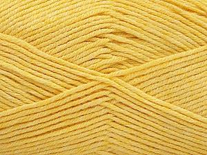 Fiber Content 60% Bamboo, 40% Polyamide, Yellow, Brand ICE, Yarn Thickness 2 Fine  Sport, Baby, fnt2-61321