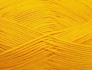 Fiber Content 60% Bamboo, 40% Polyamide, Brand ICE, Dark Yellow, Yarn Thickness 2 Fine  Sport, Baby, fnt2-61322