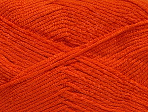 Fiber Content 60% Bamboo, 40% Polyamide, Brand ICE, Dark Orange, Yarn Thickness 2 Fine  Sport, Baby, fnt2-61323