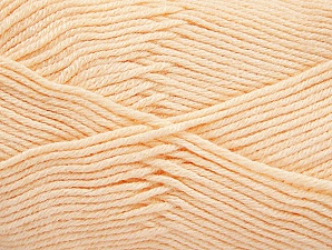 Fiber Content 60% Bamboo, 40% Polyamide, Light Salmon, Brand ICE, Yarn Thickness 2 Fine  Sport, Baby, fnt2-61330