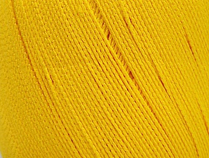 Yarn is best for swimwear like bikinis and swimsuits with its water resistant and breathing feature. Fiber Content 100% Polyamide, Yellow, Brand ICE, fnt2-61348
