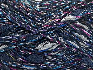 Fiber Content 60% Cotton, 40% Polyamide, Navy, Brand ICE, fnt2-62211