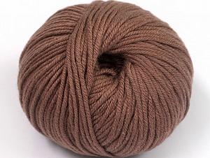 Fiber Content 50% Cotton, 50% Acrylic, Brand ICE, Brown, fnt2-62378