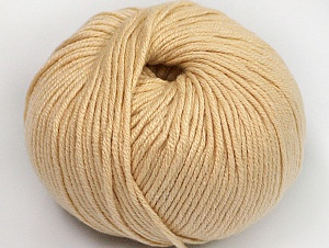 Fiber Content 50% Cotton, 50% Acrylic, Brand ICE, Dark Cream, fnt2-62382