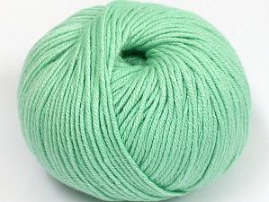 Fiber Content 50% Cotton, 50% Acrylic, Mint Green, Brand ICE, fnt2-62392