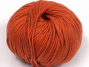 Fiber Content 50% Cotton, 50% Acrylic, Brand ICE, Copper, fnt2-62394