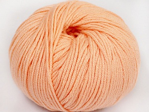 Fiber Content 50% Cotton, 50% Acrylic, Light Salmon, Brand ICE, fnt2-62400