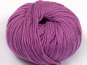Fiber Content 50% Cotton, 50% Acrylic, Lavender, Brand ICE, fnt2-62417