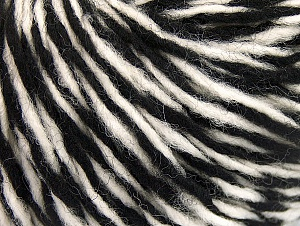 Vezelgehalte 60% Wol, 40% Acryl, White, Brand ICE, Black, fnt2-62529