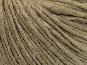 Fiberinnehåll 50% Akryl, 50% Ull, Brand ICE, Cafe Latte, Yarn Thickness 4 Medium  Worsted, Afghan, Aran, fnt2-62558