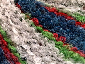 Fiber Content 40% Acrylic, 40% Wool, 20% Polyamide, Red, Light Green, Brand ICE, Grey, Blue, fnt2-62640
