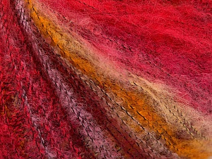 Fiber Content 37% Kid Mohair, 35% Acrylic, 28% Polyamide, Pink Shades, Brand ICE, Gold, fnt2-62665