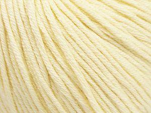Fiber Content 50% Acrylic, 50% Cotton, Brand ICE, Cream, fnt2-62731
