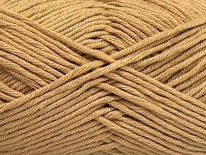 Fiber Content 50% Cotton, 50% Acrylic, Light Brown, Brand ICE, fnt2-62732