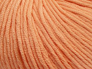 Fiber Content 50% Cotton, 50% Acrylic, Light Salmon, Brand ICE, fnt2-62736