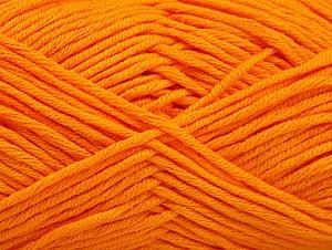 Fiber Content 50% Cotton, 50% Acrylic, Orange, Brand ICE, fnt2-62737