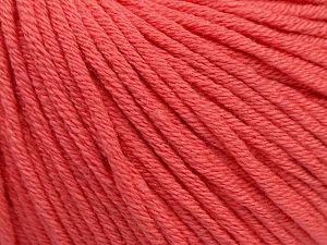 Fiber Content 50% Cotton, 50% Acrylic, Salmon, Brand ICE, fnt2-62739