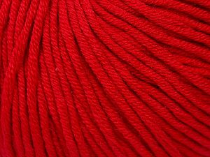 Fiber Content 50% Cotton, 50% Acrylic, Brand ICE, Dark Red, fnt2-62741