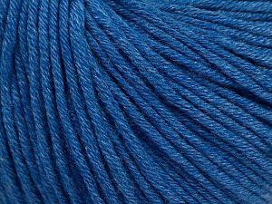 Fiber Content 50% Cotton, 50% Acrylic, Jeans Blue, Brand ICE, fnt2-62745