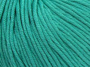 Fiber Content 50% Cotton, 50% Acrylic, Brand ICE, Emerald Green, fnt2-62749