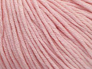 Fiber Content 50% Cotton, 50% Acrylic, Brand ICE, Baby Pink, fnt2-62753