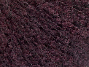 Fiber Content 25% Acrylic, 25% Wool, 25% Polyamide, 25% Alpaca, Brand ICE, Dark Maroon, fnt2-62956
