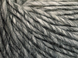 Fiberinnehåll 50% Akryl, 50% Ull, Brand ICE, Grey Shades, fnt2-62989
