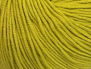 Fiber Content 60% Cotton, 40% Acrylic, Light Olive Green, Brand ICE, fnt2-63017
