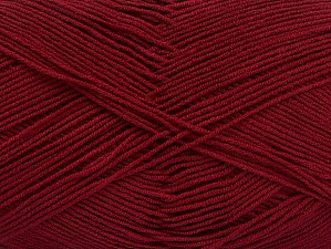 Fiber Content 55% Cotton, 45% Acrylic, Brand ICE, Burgundy, Yarn Thickness 1 SuperFine  Sock, Fingering, Baby, fnt2-63110