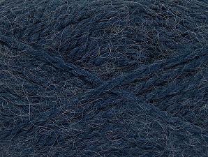 SuperBulky  Fiber Content 70% Acrylic, 30% Angora, Jeans Blue, Brand ICE, fnt2-63135