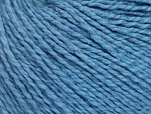 Fiber Content 68% Cotton, 32% Silk, Brand ICE, Blue, Yarn Thickness 2 Fine  Sport, Baby, fnt2-63192