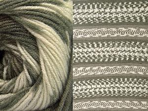 Fiber Content 70% Acrylic, 30% Wool, Khaki, Brand ICE, Cream, Beige, Yarn Thickness 3 Light  DK, Light, Worsted, fnt2-63212