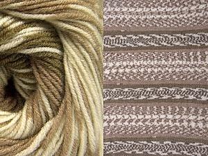 Contenido de fibra 70% Acrílico, 30% Lana, Khaki, Brand ICE, Cream, Camel, Yarn Thickness 3 Light  DK, Light, Worsted, fnt2-63214