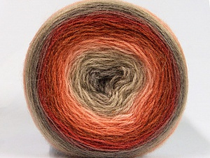 Fiber Content 60% Premium Acrylic, 20% Wool, 20% Mohair, Salmon, Brand ICE, Copper, Camel, Beige, fnt2-63276