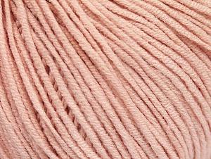 Fiber Content 50% Cotton, 50% Acrylic, Powder Pink, Brand ICE, Yarn Thickness 3 Light  DK, Light, Worsted, fnt2-63341