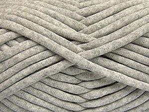 Fiberinnehåll 60% Polyamid, 40% Bomull, Light Grey, Brand ICE, Yarn Thickness 6 SuperBulky  Bulky, Roving, fnt2-63424