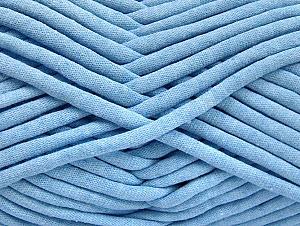 Fiberinnehåll 60% Polyamid, 40% Bomull, Light Blue, Brand ICE, Yarn Thickness 6 SuperBulky  Bulky, Roving, fnt2-63431