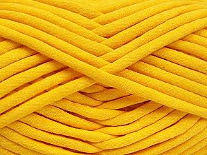 Fiberinnehåll 60% Polyamid, 40% Bomull, Yellow, Brand ICE, Yarn Thickness 6 SuperBulky  Bulky, Roving, fnt2-63435