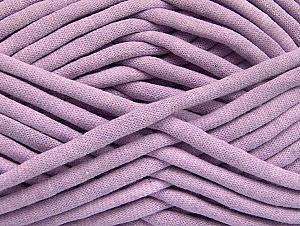 Fiberinnehåll 60% Polyamid, 40% Bomull, Light Lilac, Brand ICE, Yarn Thickness 6 SuperBulky  Bulky, Roving, fnt2-63441