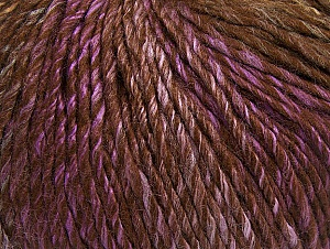 Fiber Content 70% Acrylic, 30% Wool, Lilac, Brand ICE, Brown Shades, fnt2-63456