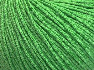 Fiber Content 60% Cotton, 40% Acrylic, Light Green, Brand ICE, fnt2-63480