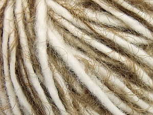 Fiber Content 60% Acrylic, 40% Polyamide, White, Brand ICE, Camel, Yarn Thickness 5 Bulky  Chunky, Craft, Rug, fnt2-63502