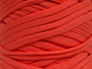 Make handbags,rugs,basket and cushion covers with this genius new-fashion yarn!<p>Since the yarn is made by upcycling fabrics, and because of the nature of the yarn; take the following notes into consideration. </p><ul><li>Fiber content information may vary. Information given about fiber content is approximate. </li><li>The yardage and weight information of the yarn is approximate. </li></ul> Fiber Content 95% Cotton, 5% Elastan, Salmon, Brand ICE, fnt2-63572