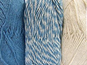 Fiber Content 90% Acrylic, 10% Polyester, Light Blue, Brand ICE, Ecru, fnt2-64020