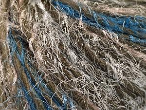 İçerik 45% Polyamid, 30% Yün, 25% Akrilik, White, Khaki, Brand ICE, Blue, fnt2-64155
