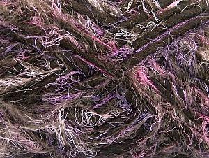 Fiberinnehåll 40% Polyamid, 30% Akryl, 30% Ull, Pink, Lilac, Brand ICE, Brown, fnt2-64162